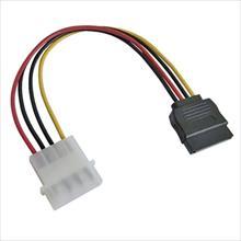 Molex to Serial ATA Adapter