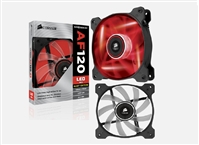 "Corsair ""Air Series"" Air Flow 120 Quiet Edition Red LED Case Fan"