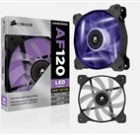 "Corsair ""Air Series"" Air Flow 120 Quiet Edition Purple LED Case Fan"
