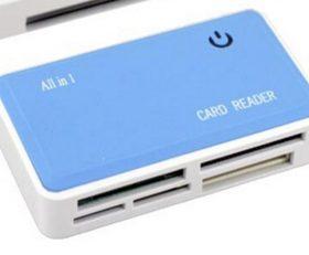 USB 2.0 super speed multiple card reader