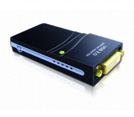 USB 2.0 to DVI/VGA/HDMI Multi-displaying Adapter