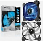 "Corsair ""Air Series"" Air Flow 120 Quiet Edition Blue LED Case Fan"