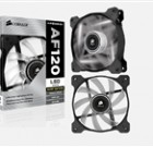 "Corsair ""Air Series"" Air Flow 120 Quiet Edition White LED Case Fan"
