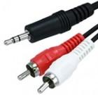 3.5 ST Plug – 2 x RCA Plug 2m
