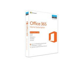 Microsoft Office 365 Home Mac/Windows, No DVD Retail Box. Up to 5 Users – 1 Year Subscription