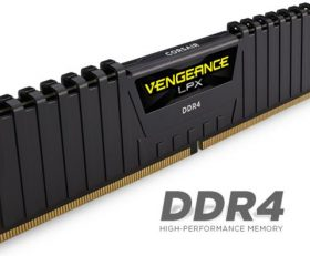 Corsair 8GB (1x8GB) DDR4 2666MHz Vengeance LPX Black